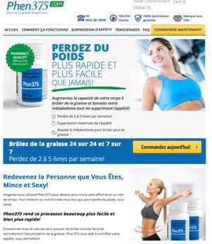 Phen375 website Francais