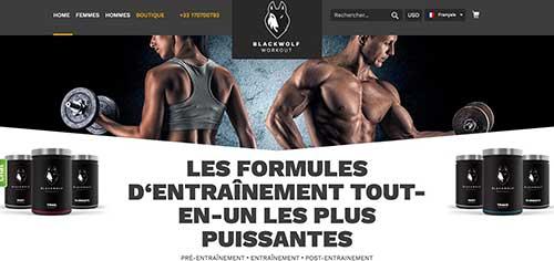 Blackwolf offre une gamme de suppléments d'entraînement tout-en-un de première qualité visant à vous aider à maximiser les gains sans les tracas causés par de multiples pilules et poudres